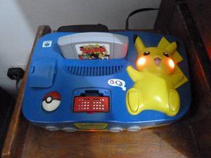Consola Pikachu Nintendo 64