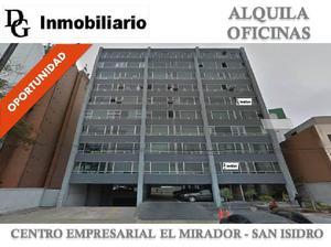 ALQUILER DE OFICINA IMPLEMENTADA DE 180 M2 EN CE EL MIRADOR