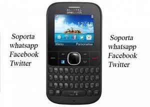 Alcatel One Touch 3075 Con Facebook Y Teclado Completo Nuevo