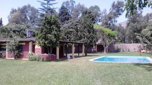 Alquilo casa de Campo en Pachacamac