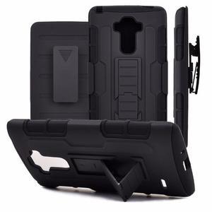 Case Armor Lg G4 Stylus Ls770 H631 + Holster