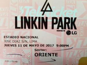Entradas Para Linkin Park Lima Perú - Sector Oriente