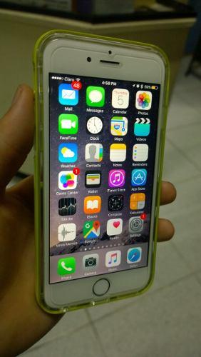 Iphone 6 De 128gb Dorado 8/10 Desbloqueado Solo Equipo