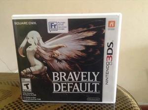 Juego De Nintendo 3ds Bravely Default (juego Raro) Preorden