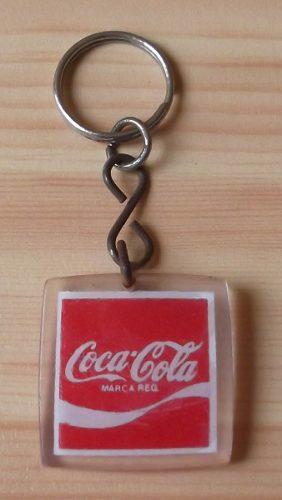 Llavero Coca Cola Antiguo