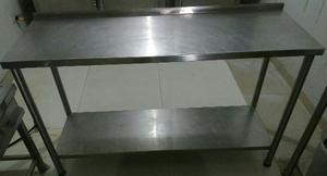 Mesas de trabajo acero inoxidable posot class for Mesas de trabajo para cocina