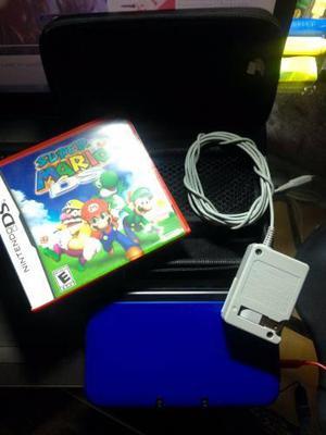 Nintendo 3ds Xl+ 1 Juego Físico + 1 Juego Digital + Forro