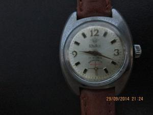 Rob Reloj Watex A Cuerda Funciona Antiguo Silvana Omega