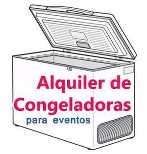 Alquiler Congelador Refrigerador Congeladora Por Día