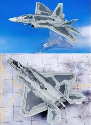Avión Caza Lockheed F-22a Raptor Modelismo Militar