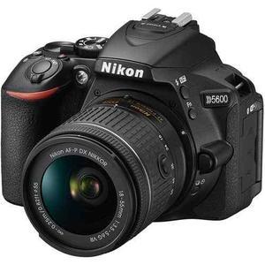 Camara Nikon D5600 + Af-p 18-55 24.2mp Full Hd Sd 32gb Nueva