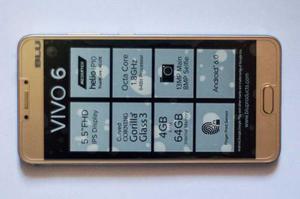 Celular Blu Vivo 6, 4 Gb Ram, 64 Gb Rom, 8 Core Zoom Optical