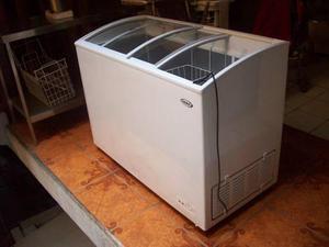 Congeladora Congelador Grande Tapa Vidrio 348 Lts