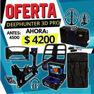 Detector de oro Dephunter 3D pro Makro oferta