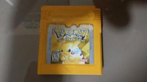 Game Boy Pokemon Yellow
