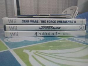 Juegos De Wii (se Vende Juntos O Por Separado)