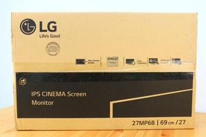 LG 27MP68 IPS CINEMA SCREEN MONITOR NUEVO EN CAJA