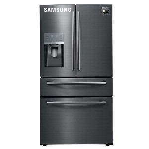 Refrigeradora 600 Lt Rf28jbedbsg/pe Negro Inox Samsung