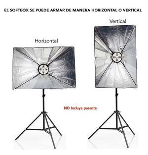 Softbox Para Iluminación Continua Estudios Fotograficos