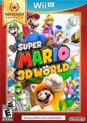 Super Mario 3d World Nintendo Selects Para Wii U
