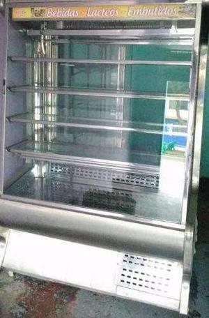 Vitrinas Exhibidora Refrigerada De Acero Inoxidable
