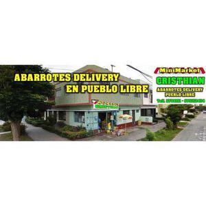 Abarrotes A DOMICILIO Pueblo Libre Lima Per��MINIMARKET