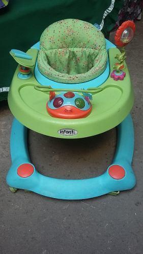 Andador Caminadora Infanti Remato Por Viaje Urgente