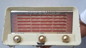 Antigua Radio Philco Tropic De Valvulas Gratis Envio