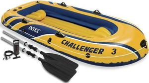 Bote Inflable Challenger 3 Personas Camping Playa