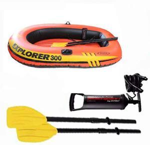 Bote Inflable Explorer 300 Intex Para 2 Camping Playa Picina
