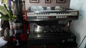 Cafetera Profesional 2 Grupos Simonelli Premier+molino+filtr