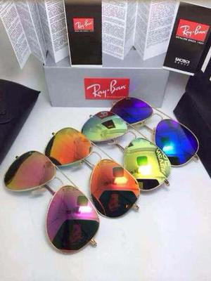 Lentes De Sol Ray Ban Aviator Rb mm Originales
