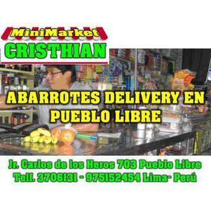 MiniMarket Cristhian ABARROTES Pueblo Libre�Lima