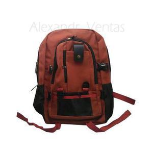 Mochila Importada Brown-red (no Converse No Porta No Adidas)
