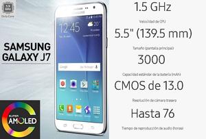 Samsung Galaxy J7 Nuevos en caja sellado Liberado.