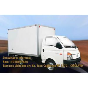Servicio de Carga en Chiclayo Camioneta Hyundai H100