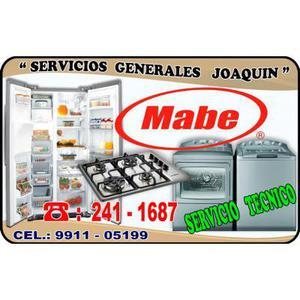 Servicio t�cnico * MABE * lavadoras cocinas y