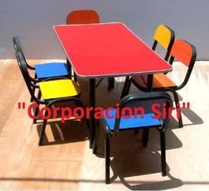 Venta De Mobiliario Para Nido 6 Aulas Posot Class