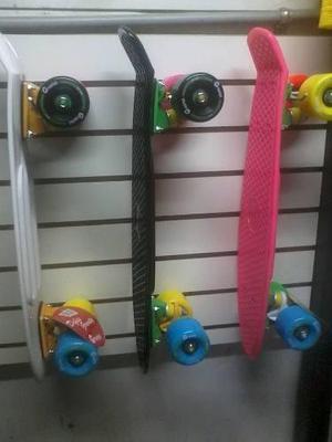 Skate Modelo Penny Marca Gravital Con Llantas Multicolores+d