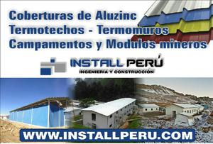 Termotechos Coberturas Drywall