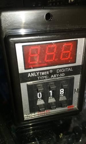 Timer Temporizador Programable Digital Nuevo 220v