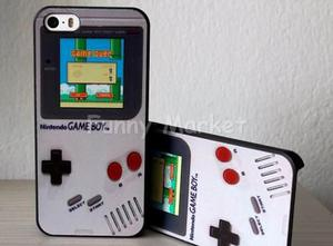 Case Carcasa Game Boy Iphone 5 Iphone 5s Se Gamers 25 Soles