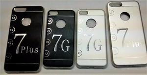 Case Protector De Aluminio Iphone 7 Y 7 Plus