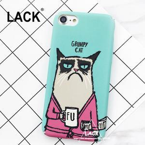 Case para iPhone 7 de dibujos gatos y bananas
