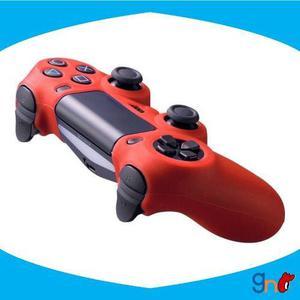 Funda Protector Silicona Dualshock4 Ps4 Gamenest Rojo