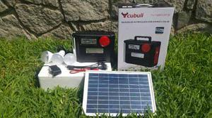 Kit Solar Para Emergencias O Campamentos