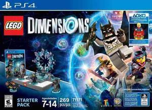 Lego Dimensions Ps4 Edicion Especial (nuevo/sellado)