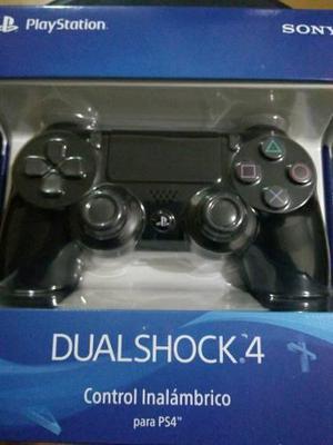 Mando Dualshock 4 Negro Original Nuevo Sellado Ps4