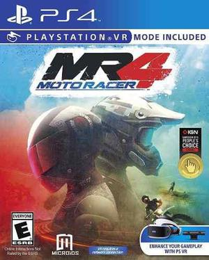 Moto Racer 4 Vr Mr4 Ps4 /play Station Nuevo Sellado Garantia