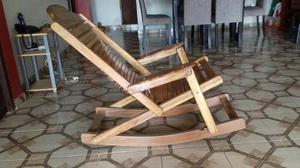 Mueble Sillon De Madera Muy Comodo Nuevo